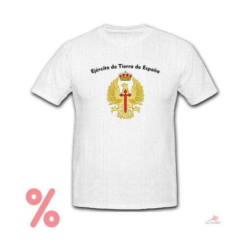 SALE Shirt Spanische Armee Ejército de Tierra de España Wappen T-Shirt #R355