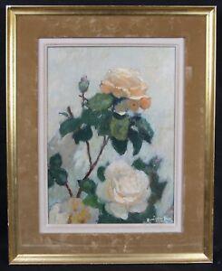 Rene-Georges-Gautier-1887-1969-die-Rosen-Thonon-Les-Bains-Schweiz-Blumen
