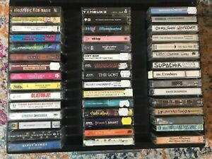 45-Cassette-Tapes-Beck-Timbuk3-Nirvana-Rare-Alternative-80-039-s-90-039-s-With-Case