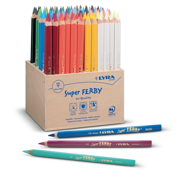 96 Lyra Super FERBY® Farbstifte Buntstifte Holzkasten 3722960 Kiga Hort | Heißer Verkauf  | Deutschland Online Shop  | Sonderaktionen zum Jahresende