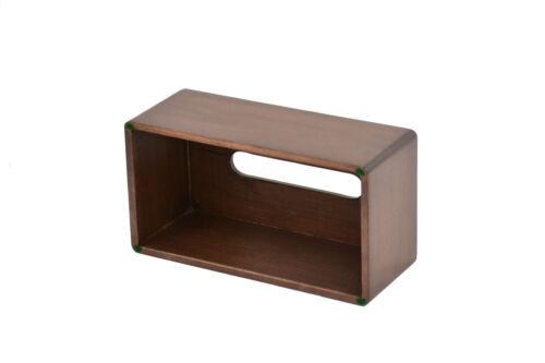 Wooden tissue box cover Maple NEW CQ-2-75
