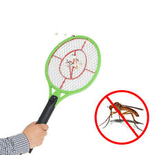 Rechargeable Electric Mosquito Insect Bug Fly Killer Racket Bat (With LED Light)