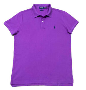 Polo-Ralph-Lauren-women-039-s-Classic-Fit-Polo-Violet