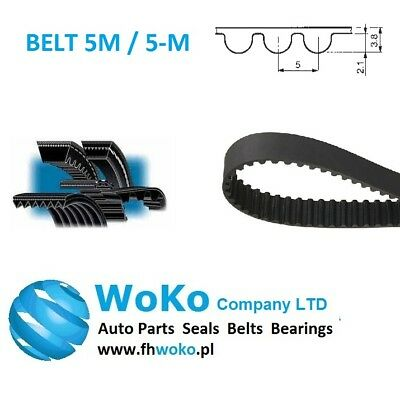 635-5M-15 HTD Timing Belt 635 mm Long 15mm wide /& 5mm Pitch