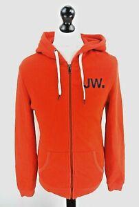 Détails sur Jack Wills Sweat à Capuche Veste S Small Orange Coton & Polyester afficher le titre d'origine