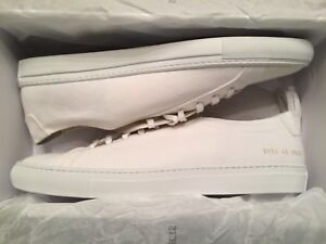 fd1e4bd127e4 NEW WITH BOX COMMON PROJECTS ACHILLES ORIGINAL LOW CANVAS SNEAKERS ...