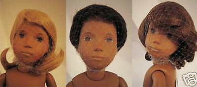 "3 x Dolly Hairnets-Tyler Gene Sybarite Modsdoll Jamieshow Alex DAE 16/"" doll"