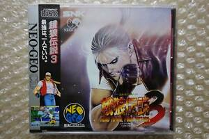 Brand-New-Fatal-Fury-3-Neo-Geo-CD-SNK-Japanese-Video-Game