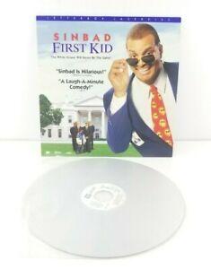 Sinbad-First-Kid-Letterbox-Edition-Laserdisc-LD-Walt-Disney-Comedy