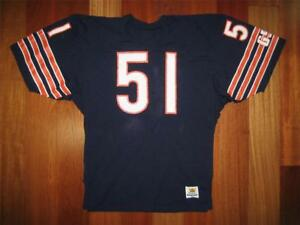 promo code 831fe 333d3 Details about 1980s Authentic Dick Butkus Bears Sand-Knit jersey HOME 44  PRO-Line