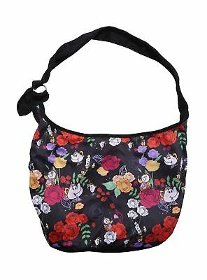 Loungefly NEW! Disney Beauty And The Beast Mrs Potts Floral Hobo Bag Purse