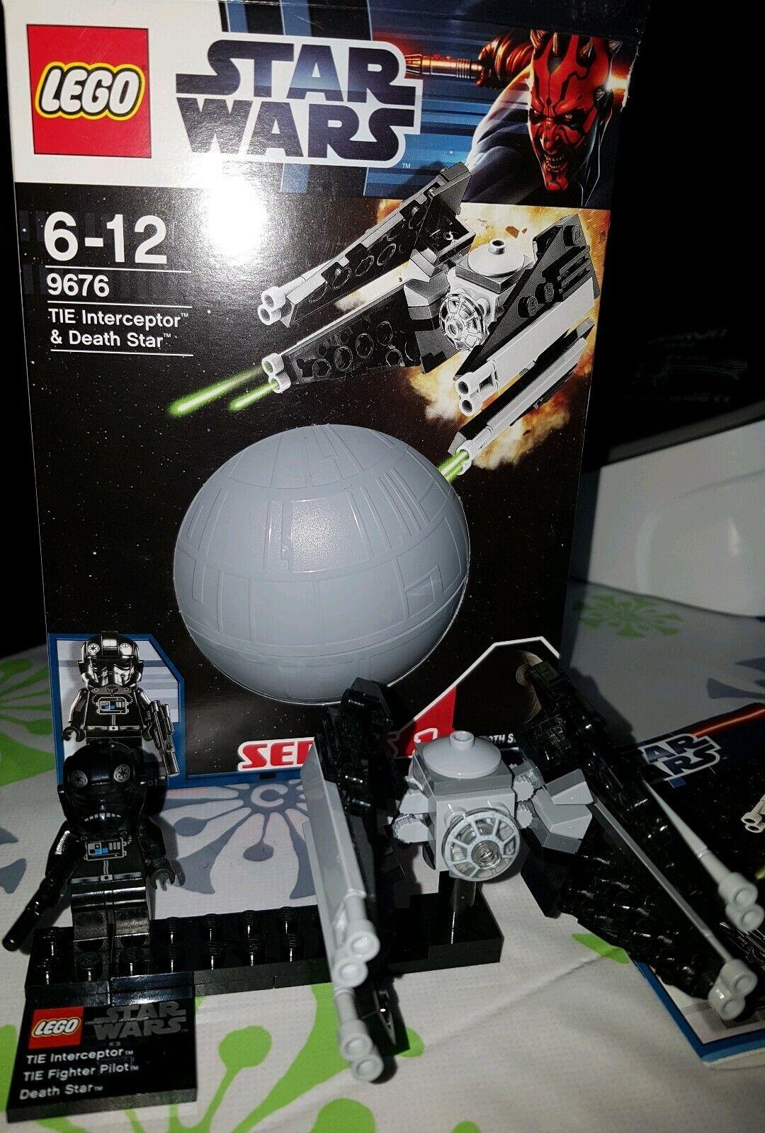 Lego Star Wars Set 9676 Tie Interceptor & Death Star absolut Neuwertig