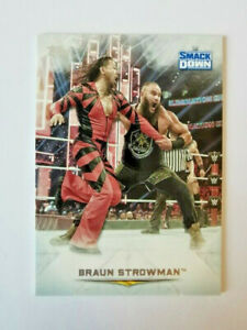 TOPPS WWE UNDISPUTED 2020 BRAUN STROWMAN N°29