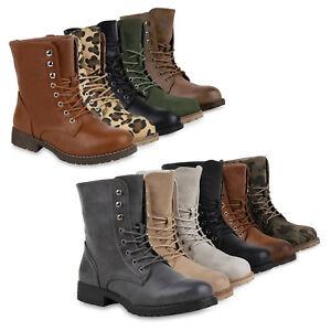new product 41984 9bd7d Details zu Damen Herren Stiefeletten Worker Boots Schnürstiefel Cut-outs  816848 Schuhe