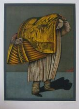 "Mihail Chemiakin ""Ventre de Paris 11"" Original Lithograph S/N"