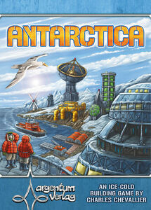 Antarctica, Boardgame By Argentum Verlag, New, English Edition