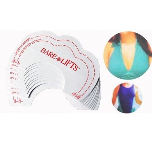 20 x Breast Nipple Cover Sticker Self Adhesive Patch Bra Lift Petal Shape UK