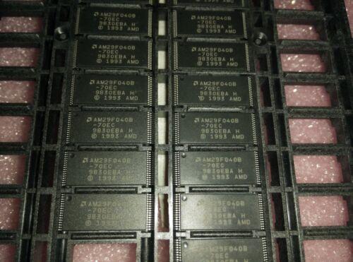 512K x 8 2x  AMD AM29F040B-70EC 4Mb NOR Flash TSSOP-32