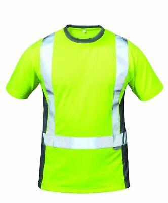 Costruttivo Warnschutz-shirt Maglietta Lavoro T-shirt Giallo Classe 2 Elysee Premium Xl Xxl-rt Arbeitshirt T-shirt Gelb Klasse 2 Elysee Premium Xl Xxl It-it