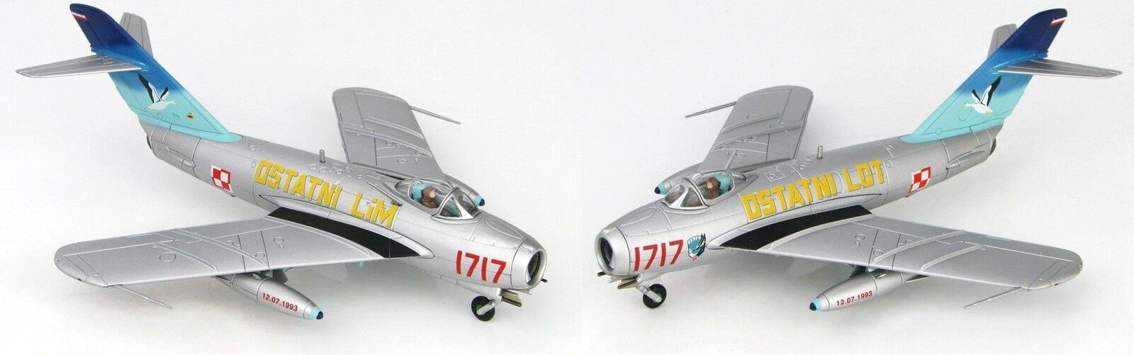 Hobby Master 1:72 LIM-5 MIG-17 Polish AF 45th Experimental Sqn rosso 1717 HA5905