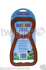NEW Hi-Craft 🐶 Toyboy™ Dog Chew Chicken Flavour Nylon Teething PULL Toy 🇬🇧