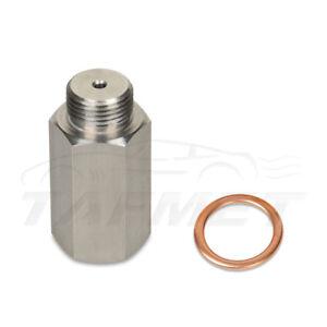 Oxygen sensor extender spacer O2 lambda sensor for M18 decat hydrogen steel~