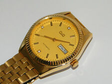 Q&Q,Automatic,Day Date,Heren Armbanduhr,Uhr,Wrist Watch,Montre