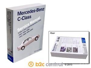 bentley paper repair manual mb c class w202 fits 1994 2000 mercedes rh ebay com