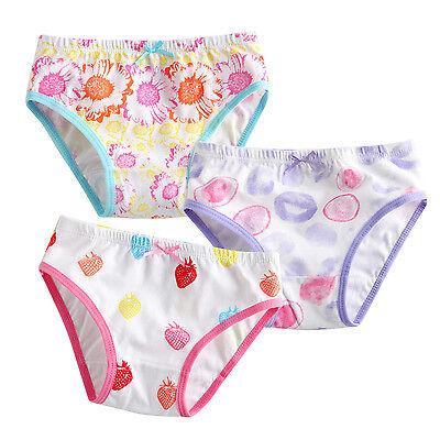 """NWT Vaenait Baby Kid Brief Short Underwear Girls Pantie Set """"Bubble berry"""" 2T-7T"""