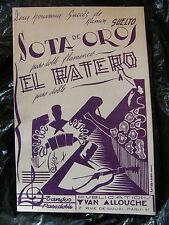 Partition Sota de Oros Ramon Suelto El Ratero Paso Doble
