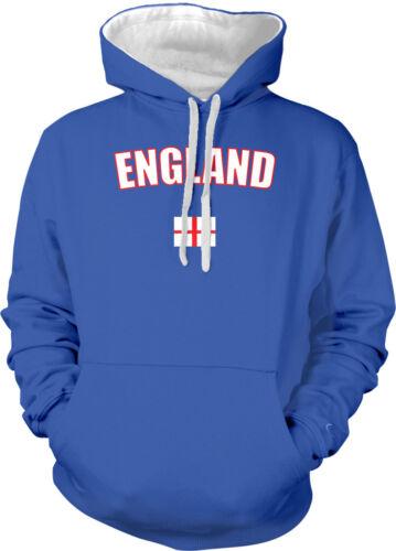 England English London United Kingdom Country Pride Flag 2-tone Hoodie Pullover