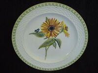 Hampton Garden Certified International Raymond Waites Yellow Daisy Dinner Plate