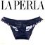 P Taglia Lace Perla La Navy Panty Detail Romance 733 A40q8