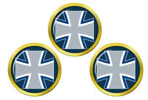 Allemand-Air-Force-Luftwaffe-Marqueurs-de-Balles-de-Golf