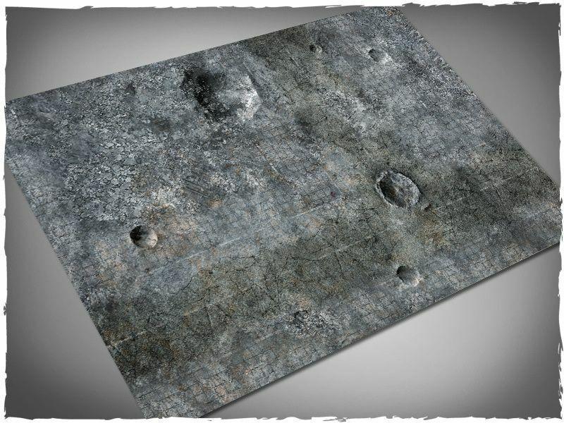 Deep Cut Studio Wargames Terrain Mat City Ruins 4x6 Playmat Play Mat Gamemat