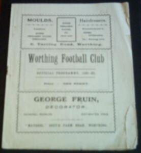 WORTHING-v-LLOYDS-BANK-1933-34-AFA-CUP-VERY-RARE