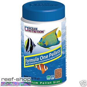 Ocean Nutrition Formula One Pellets MEDIUM 400 grams (14 oz) Marine Fish Food