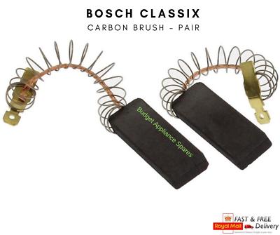 2 Motore Spazzole di carbone per lavatrice BOSCH Classixx 6 EXXCEL 7 1400