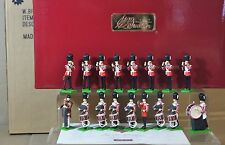 BRITAINS 41175 GRENADIER GUARDS DRUM and FIFE MARCHING BAND x 17 SET MIB nj
