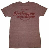 Dr Pepper Good For Life Vintage Style Distressed Graphic T-shirt Soda Bottle