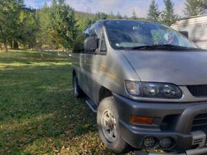 1999 Delica L400 V6 Gasoline - Low KMs