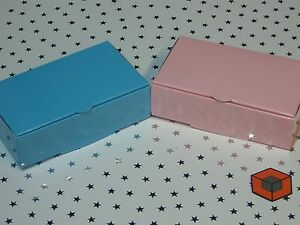 wedding cake slice boxes uk light pink or blue 100x60x30mm premium wedding cake 24906