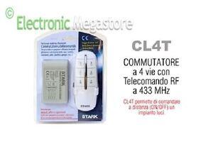 Accensione Luci Con Radiocomando.Dettagli Su Kit Centralina Telecomando Controller Accensione Luci Con Telecomando 4 Vie 433