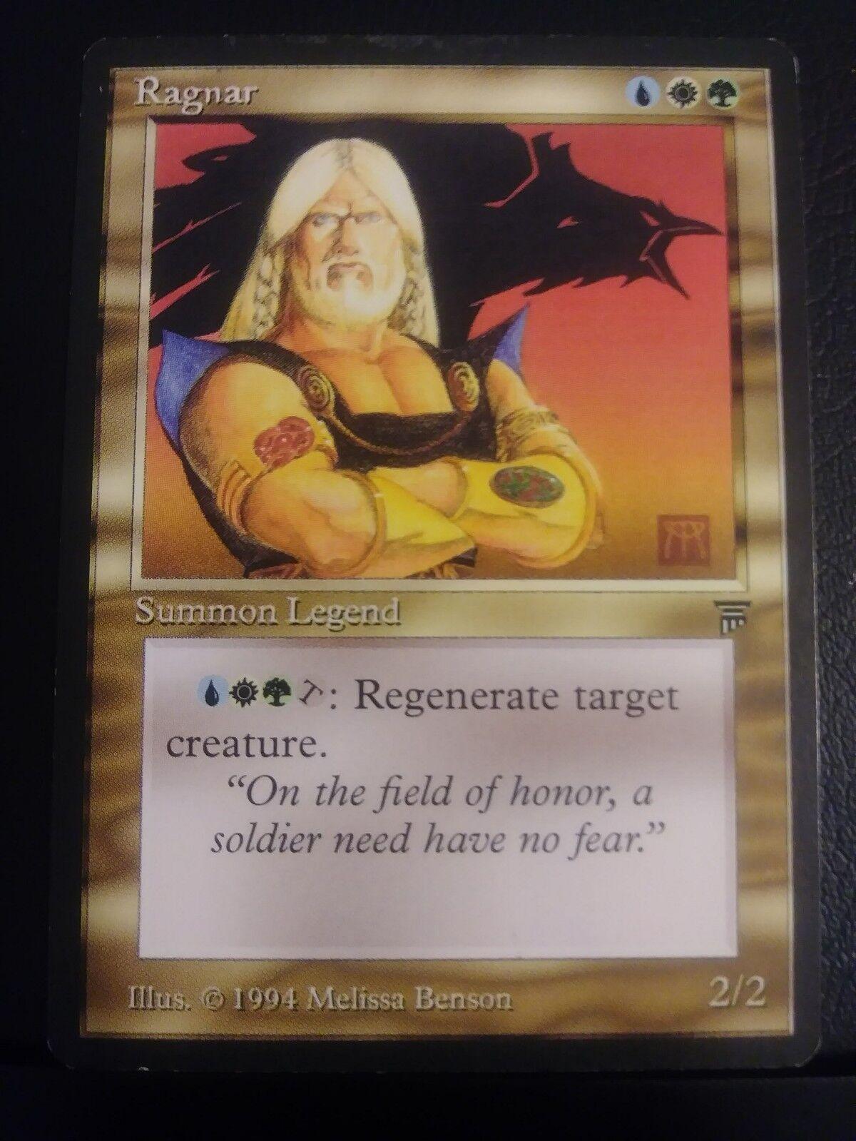 MTG Ragnar Ragnar Ragnar Legends Reserved List NM Near Mint 7e0676