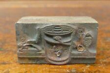 Vintage Antique Ice Cream Maker Metal Wood Printers Block Printing Letter Press