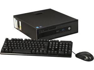 HP-A-Grade-Desktop-Computer-600-G1-SFF-Intel-Core-i5-4th-Gen-4590-3-30-GHz-8