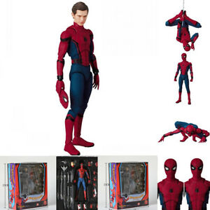 """New 6/"""" Spider-Man Homecoming Model Mafex Medicom PVC Action Figure Toy Gift 15cm"""