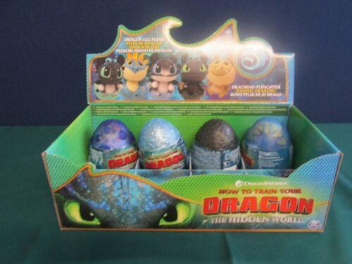 et Scellé How To Train Your Dragon Hidden World Dragon Egg Plush Toy NEUF