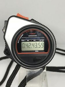 Details about Vintage Timex Chronograph Start Stop Watch Stopwatch Water  Resistant Rare