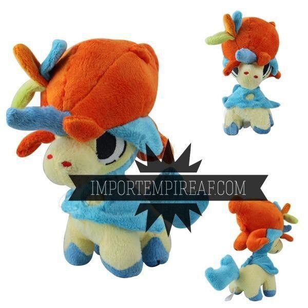 Pokemon Keldeo groß 32 cm Plüsch 647 Plush Figure doll kerudio XY Schneemann x  | Ausgezeichnete Leistung